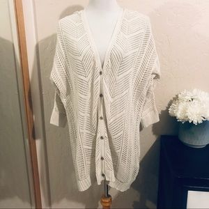 Torrid knit cardigan size 1
